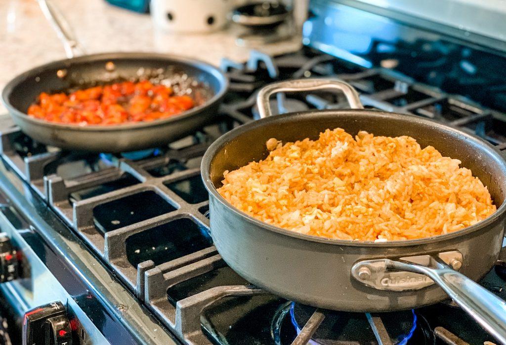 Orange Chicken + Fried Rice Recipe